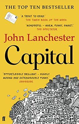 Capital by Lanchester, John Book The Cheap Fast Free Post