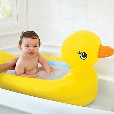 Munchkin White Hot Inflatable Duck Tub Ideal For Babies Between 6 to 24 months