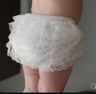 Newborn  Baby  Bloomers Ruffle Nappy Cover Soft 100 % Cotton