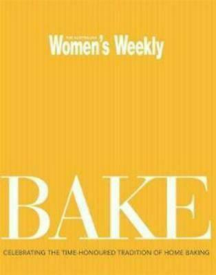 Bake by Australian Women's Weekly Paperback Book
