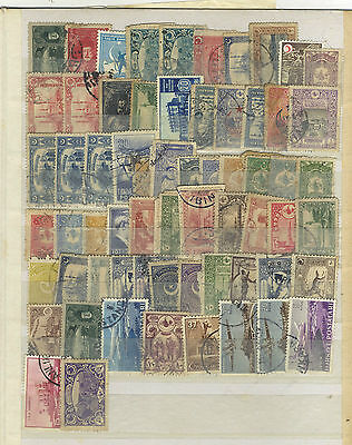Lot 64 Timbres Turquie