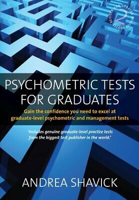 Psychometric Tests for Graduates: 2nd edition: G... by Shavick, Andrea Paperback