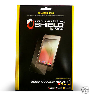 "Invisible Shield  Asus Google Nexus 7"" First Generation Screen Protector"