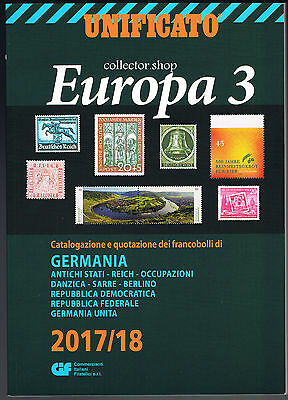 Unificato Europa 2017-18 Volume 3 - Catalogo Per Francobolli Della Germania