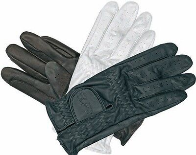 Mark Todd Genuine Leather Adult Riding Show Gloves Choose Size And Colour