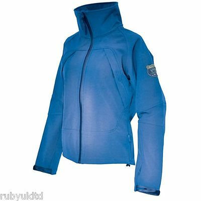 Mark Todd Ladies Lightweight Jacket Electric Blue Black Equestrian Riding Horse