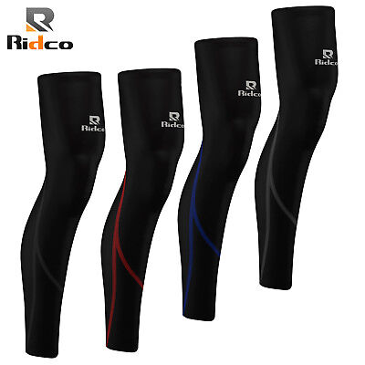 Cycling Leg Warmers Winter Thermal Roubaix Running Cycle Knee Warmer S to XL