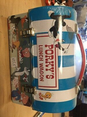 """PORKY'S LUNCH WAGON"" LUNCH BOX vintage"