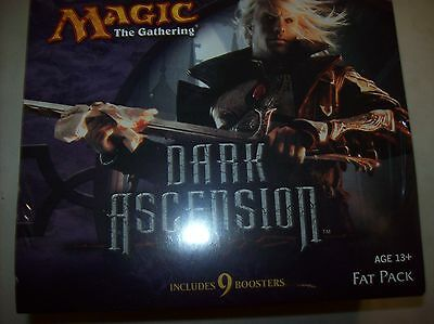 Magic the Gathering DARK ASCENSION Fat Pack Factory Sealed Player Guide Boosters