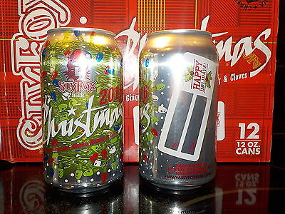 Sly Fox Christmas ale 2016 beer can