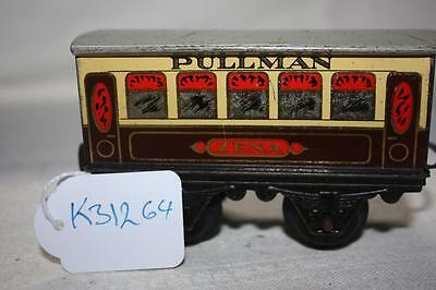 o gauge hornby mo pullman coach ZENA has couple marks small dent roof K31264