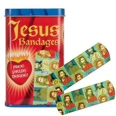 Jesus Band Aids Kitsch Unique Gift Joke Novelty Bandages Retro Kids