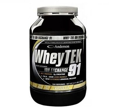 Anderson Research - Whey Tek 91 2000g Proteine siero del latte