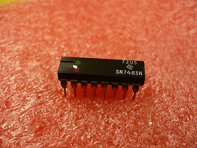 Sn7483N Ic 5 Pieces 4 Bit Full Adder New Old Stock