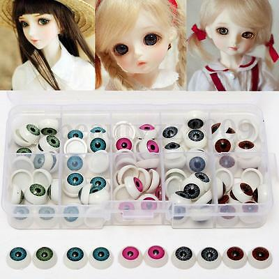 100pcs/box 12mm Plastic Safety Eyes Eyeballs Making Bear Soft Toys Animal Craft