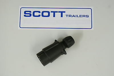 Ifor Williams 7 Pin Trailer Lighting Plug Type 12N (Spade Connector)