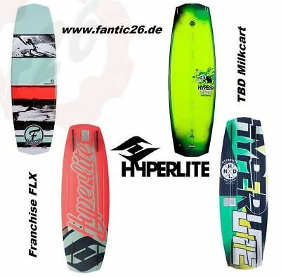 HYPERLITE THE SYSTEM Wakeboard-BWF Franchise FLX TBD Milkcart Bindung 2015