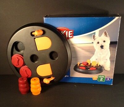 Trixie Pet Products Flip Board Level 2 Pet Toys NEW Dog Activity