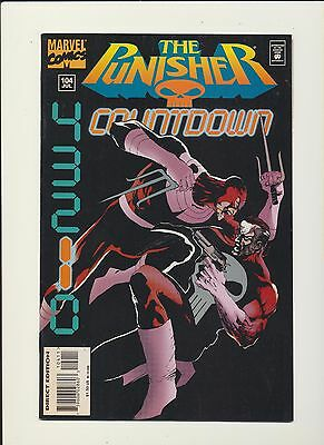 Punisher #104 (Jul 1995 Marvel Comics)! Scarce Print Run! See Scans! Final Issue