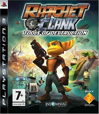 Ratchet and Clank: Tools of Destruction (PS3) - Game  X2VG The Cheap Fast Free