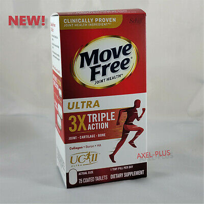 Schiff  Move Free Ultra, 75 Tablets NEW !