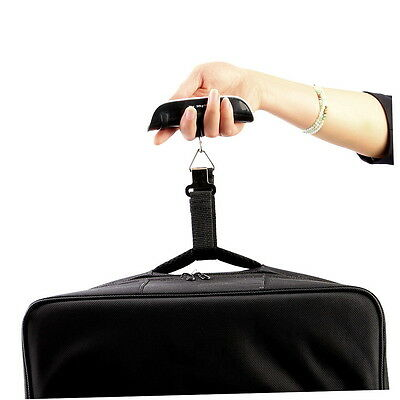 50 kg / 110 lb Electronic Digital Portable Luggage Hanging Weight Scale BF