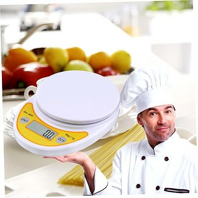 WH-B04 5kg/1g LCD Digital Electronic Kitchen Scale for Food Balance Weighing BF
