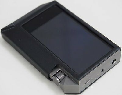 Astell&Kern Hand Crafted Italian Minerva Leather Case for AK240 - Black