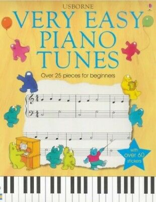Very Easy Piano Tunes (Usborne) by Marks, Anthony Paperback Book The Cheap Fast