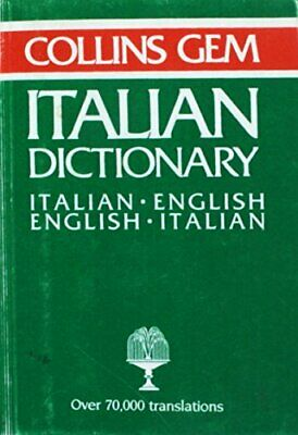 Italian-English, English-Italian Dictionary (Gem Dictionaries) Paperback Book