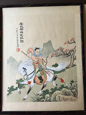 A Pair of Classical Chinese Painting on Silk #20140230