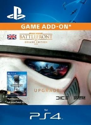 Star Wars Battlefront Deluxe Edition Content DLC UK PS4 - Same Day Dispatch