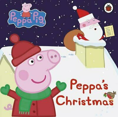 Peppa Pig: Peppa's Christmas Book The Cheap Fast Free Post