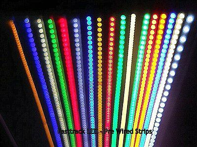LED Strip Light Kits - PP3 Clip/Optional Switch - Z Gauge Train Layout/Scenery