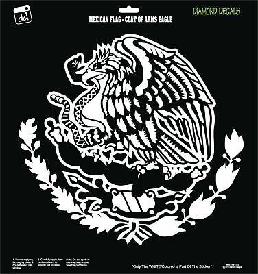 Mexican eagle snake flag coat of arms design vinyl decal sticker car window new