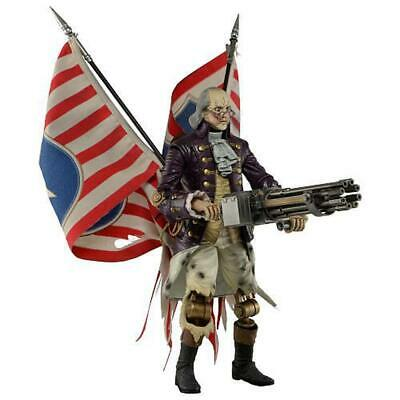"NECA Bioshock Infinite 9 inch Scale Action Figure - Benjamin Franklin ""Heavy Hit"