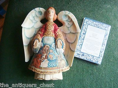 G.DeBrekht Russian Nativity Angel New in Box with certs Resin [2]