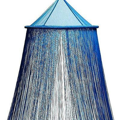Bacati Turquoise String Bed Canopy