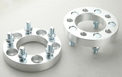 2 Wheel Spacers Adapter | 5x114.3 to 5x114.3| 14x1.5 | 82.5CB | 25mm THICK 5 lug