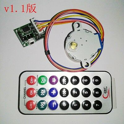 4 phase 5 wire stepper motor driver board remote control rc dc 5v stepping stepper motor driver board remote control rc adjustable speed