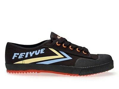 Feiyue Shoes (Lo Canvas Runners Black,Parkour Shoes, Kung fu Shoes)