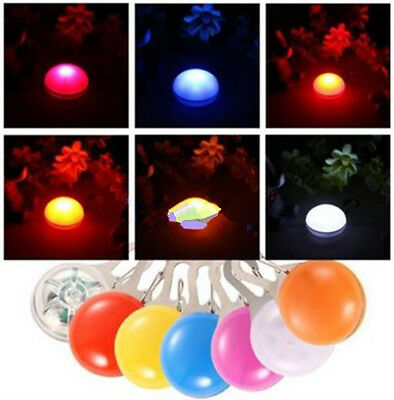 1X Fancy Flashing LED Light Pendant Safety Night Tag Clip For Pet Dog Cat Puppy