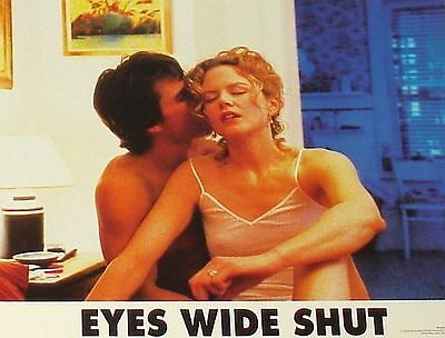 EYES WIDE SHUT - 11x14 US Lobby Cards Set of 8 - Stanley Kubrick, Nicole Kidman