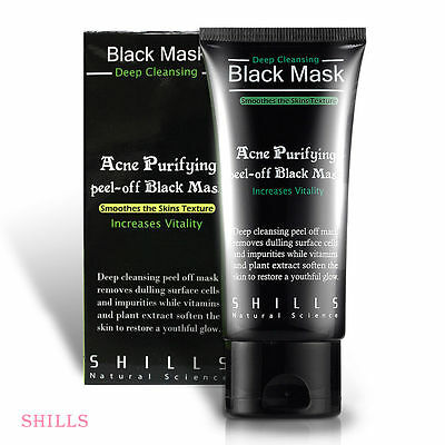 [SHILLS] Purifying Blackhead Remover Peel-Off Black Charcoal Face Mask 50ml