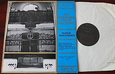 Katejaner Kirche Mechanical Organ Musical Clock Lp Haselbock Oryx 1754 Ex+ Uk