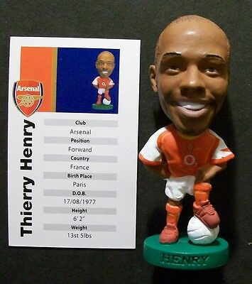 Prostars ARSENAL (HOME) HENRY, PR003 Loose With Card LWC