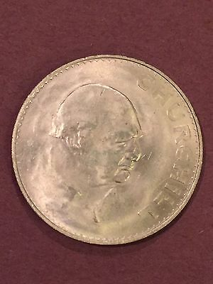 Uncirculated Great Britain 1965 Crown~Winston Churchill - MINT CONDITION