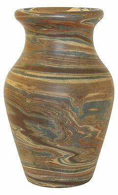 Niloak Pottery Mission Swirl Vase Early First Art Mark
