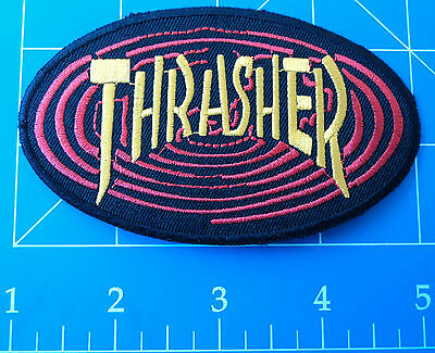Thrasher Oval Patch, Dress Up Yo Raggedy Ass!