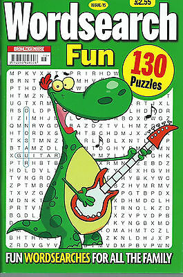 3 Bumper Word Search Magazines Most With 120+ Puzzles Solutions In Back (Set 44)